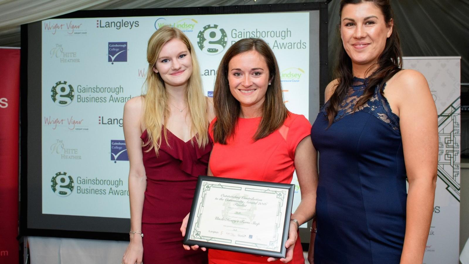 Gainsborough Business awards 2016