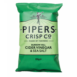Pipers Burrow Hill Cider Vinegar & Sea Salt 150g | Uncle Henry's