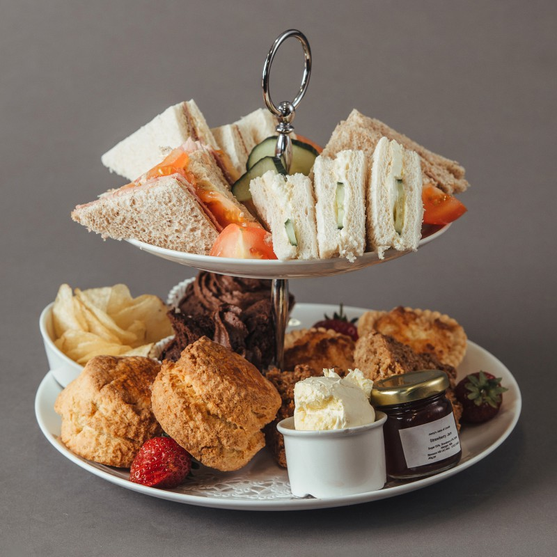 Delicious lincolnshire afternoon tea